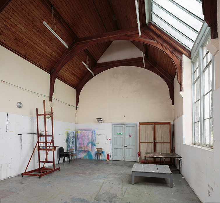 Large open 1901 studio