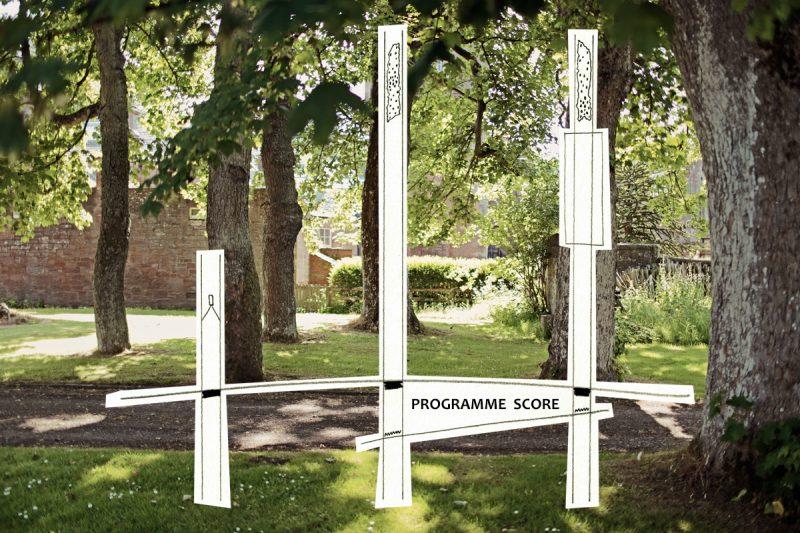Programme Score 1, FIELDWORK 2017, Shoulder-to-Shoulder, co-programmed by Gordon Douglas and Cicely Farrer.