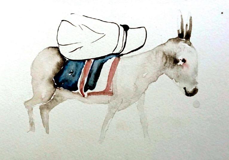 RanjeetaKumari_DonkeyPainting