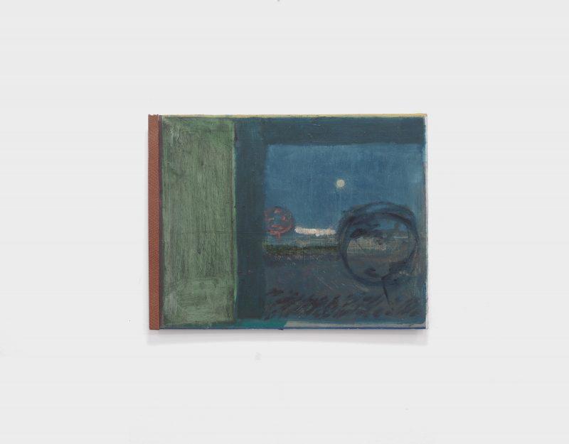 Dusk View, oil painting by Ewan Murray